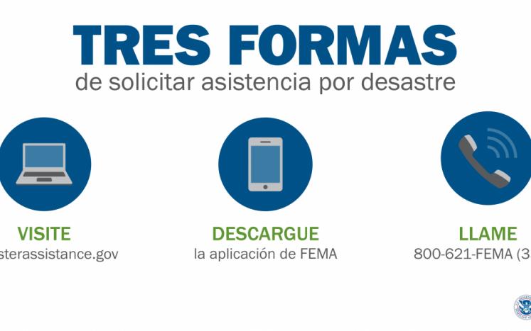 FEMA - Three Ways to Apply English and Spanish Version